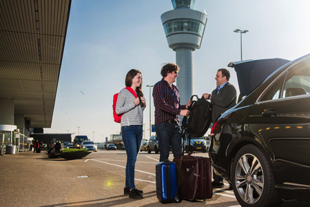 Ordering a Schiphol Taxi for individuals